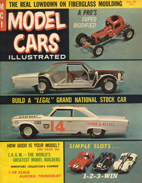 Model Cars Illustrated June 1964