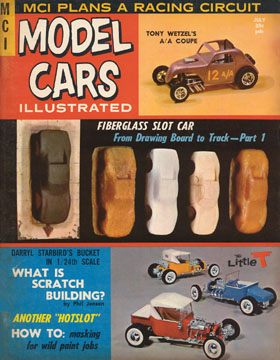 Model Cars Illustrated July 1964