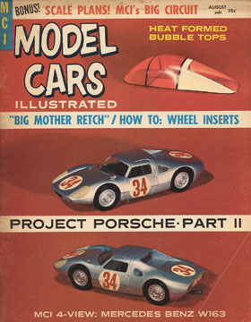 Model Cars Illustrated August 1964