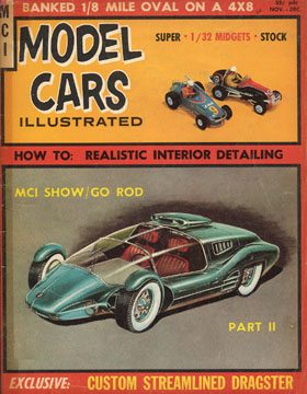 Model Cars Illustrated November 1964
