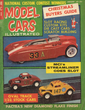 Model Cars Illustrated January 1965