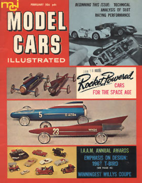 Model Cars Illustrated February 1965